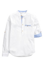 Cotton shirt - White -  | H&M 3