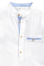 Cotton shirt - White -  | H&M 4
