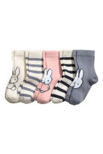 5-pack socks - Pink/Miffy - Kids | H&M 2
