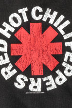 Printed T-shirt - Black/Red Hot Chili Peppers -  | H&M CN 3
