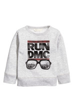 Light grey/RUN DMC