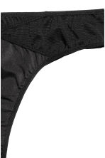 Microfibre Brazilian briefs - Black - Ladies | H&M CN 3