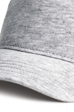 Cotton cap - Light grey marl - Kids | H&M CN 2
