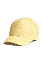 Cotton cap - Yellow -  | H&M CN 1