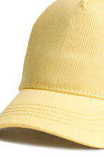 Cotton cap - Yellow -  | H&M CN 2
