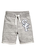 Sweatshirt shorts - Grey marl -  | H&M CN 2