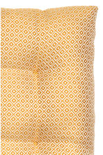 Jacquard-weave seat cushion - Mustard yellow/Patterned - Home All | H&M CN 3