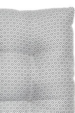 Jacquard-weave seat cushion - Grey/Patterned - Home All | H&M CN 2