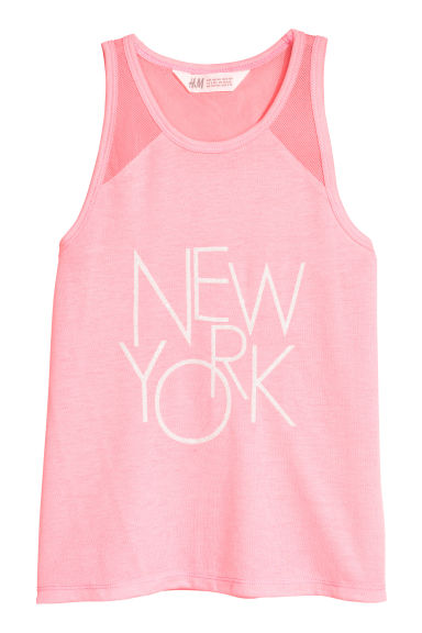 Top con stampa - Rosa/New York - BAMBINO | H&M IT 1