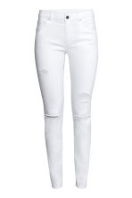 Skinny Regular Jeans - White denim - Ladies | H&M CN 2
