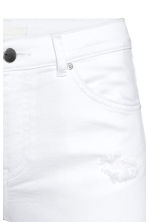 Skinny Regular Jeans - White denim - Ladies | H&M CN 4