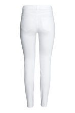 Skinny Regular Jeans - White denim - Ladies | H&M CN 3