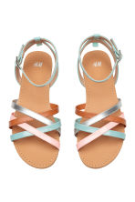 Sandals - Turquoise/Pink - Kids | H&M 1
