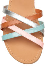 Sandals - Turquoise/Pink -  | H&M 4