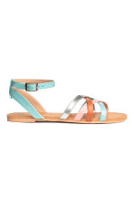 Sandals - Turquoise/Pink -  | H&M 2