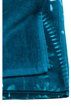 Patterned beach towel - Petrol blue - Home All | H&M CN 4