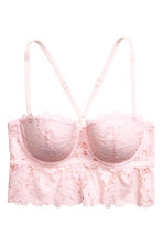 Lace bralette - Light pink - Ladies | H&M CN 2