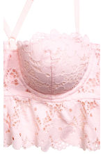Lace bralette - Light pink - Ladies | H&M 3
