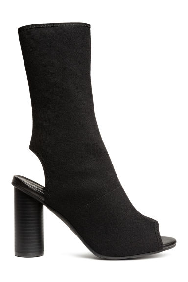 Jersey ankle boots - Black - Ladies | H&M CN 1