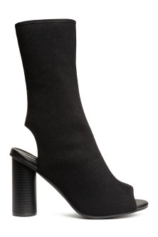 Jersey ankle boots