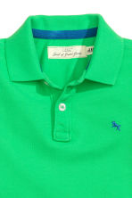 Polo shirt - Bright green - Kids | H&M 3