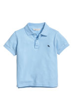 Polo shirt - Light blue -  | H&M CN 2