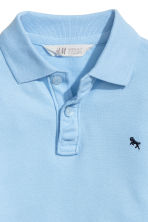 Polo shirt - Light blue -  | H&M CN 3