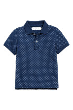 Dark blue/Spotted