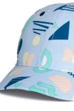 Cap - Light blue/Patterned - Kids | H&M CN 3