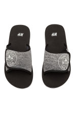 Pool shoes - Dark grey marl - Kids | H&M 1