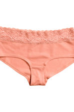 3-pack cotton shortie briefs - Porcelain - Ladies | H&M CN 4