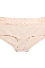 3-pack cotton shortie briefs - Burgundy - Ladies | H&M CA 5
