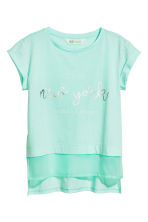 T-shirt a maniche corte - Mint/New York - BAMBINO | H&M IT 2