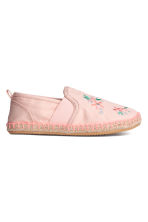 Espadrilles - Light pink/Floral - Kids | H&M 1