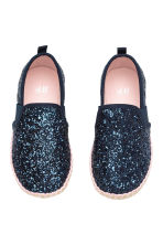 Espadrillas - Blu scuro/glitter - BAMBINO | H&M IT 2