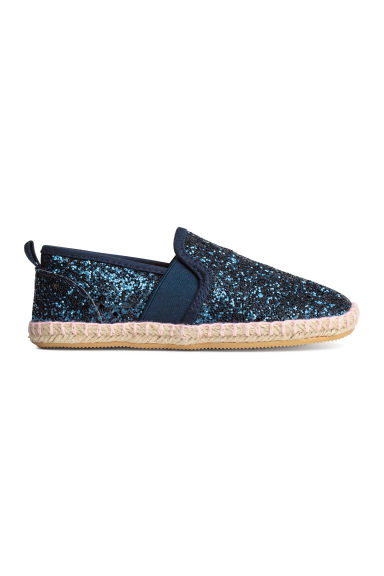 Espadrillas - Blu scuro/glitter - BAMBINO | H&M IT 1
