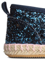 Espadrillas - Blu scuro/glitter - BAMBINO | H&M IT 4