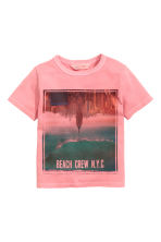 T-shirt con stampa - Rosa - BAMBINO | H&M IT 2