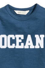 T-shirt con stampa - Blu scuro - BAMBINO | H&M IT 3
