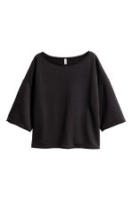 Sweatshirt top - Black - Ladies | H&M CN 2