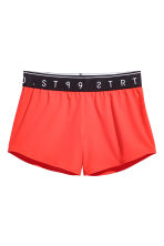Shorts sportivi - Rosso - DONNA | H&M IT 2