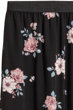 Long skirt - Black/Floral - Ladies | H&M 3