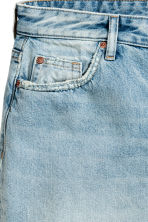 H&M+ Denim skirt - Light denim blue - Ladies | H&M 3