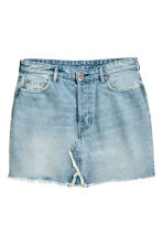 H&M+ Denim skirt - Light denim blue - Ladies | H&M 2