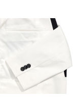 Tuxedo jacket Slim fit - White - Men | H&M 3