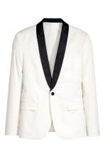 Tuxedo jacket Slim fit - White - Men | H&M 2