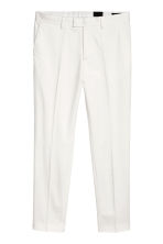 Suit trousers Skinny fit - White - Men | H&M 2