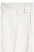 Suit trousers Skinny fit - White - Men | H&M 4