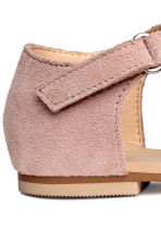 Suede sandals - Old rose -  | H&M 5