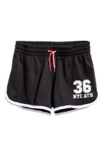 Shorts sportivi - Nero/New York - BAMBINO | H&M IT 2